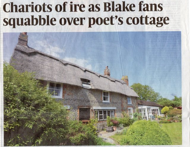 Blake's Cottage Sunday Times 1